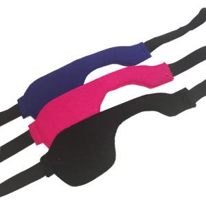 Soft and adjustable headband eye patch