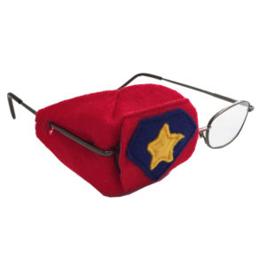 over-the-lens eye patch